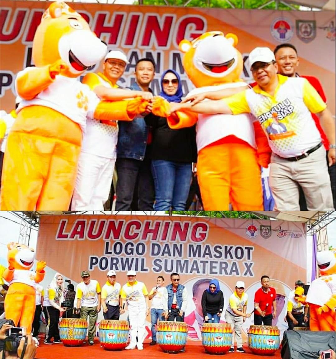 Launching Logo dan Maskot Porwil Bengkulu 2019 Oleh Menpora RI