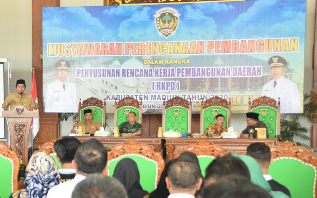 Pemkab Madiun Gelar Musrenbang Dalam Rangka Penyusunan RKPD