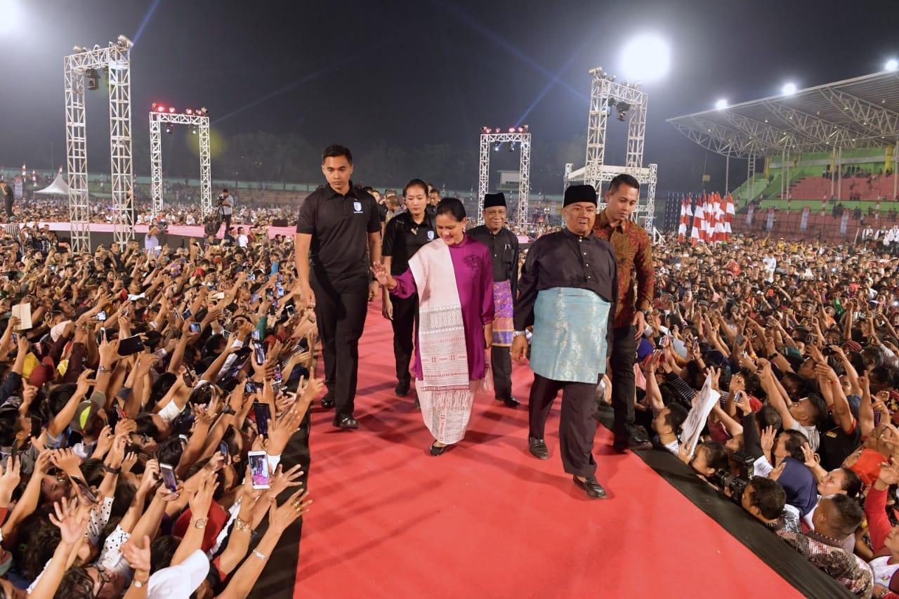 Apresiasi Keragaman di Sumut, Presiden: Sumut adalah Miniaturnya Indonesia