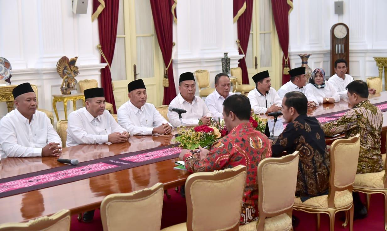 Presiden Jokowi Terima DPP APTRI Bahas HPP Gula