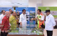 Presiden Jokowi Resmikan Terminal Baru Bandara Depati Amir