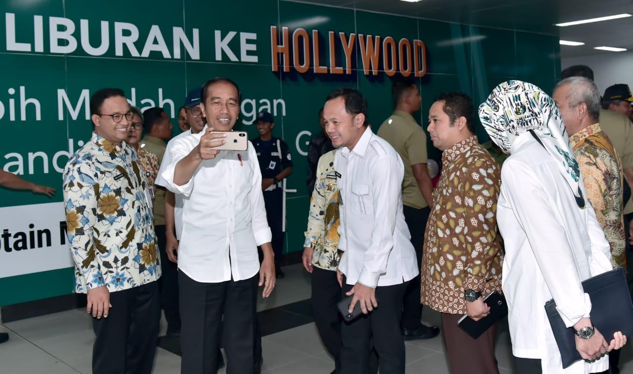 Presiden Saat Uji Coba MRT: Modal Transportasi yang Bangun Peradaban dan Budaya Baru