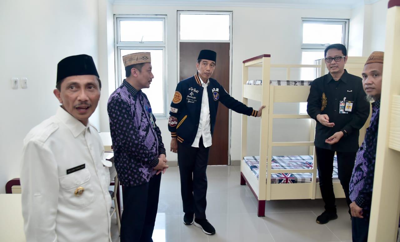 Presiden Resmikan Rusunawa Universitas Muhammadiyah Gorontalo