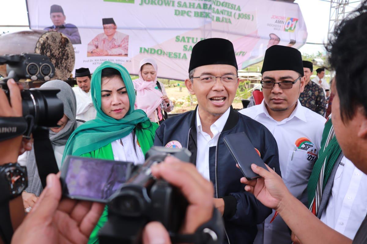 "Santri Se-Indonesia Siap ""Berjihad"" Memenangkan Jokowi-KH Ma'ruf Amin"