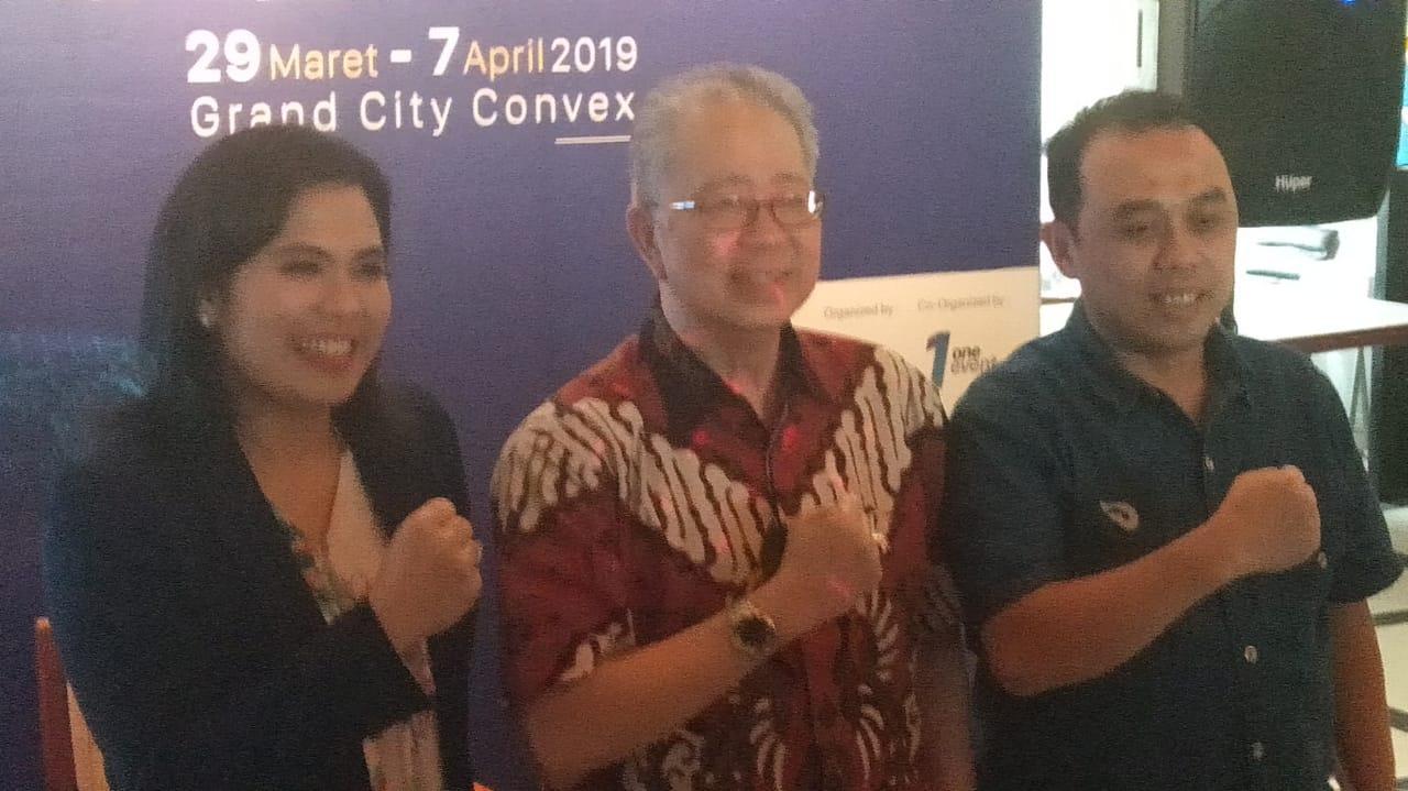 Surabaya Awali GIIAS 2019, Hadirkan Semua Kendaraan Motor Terkini