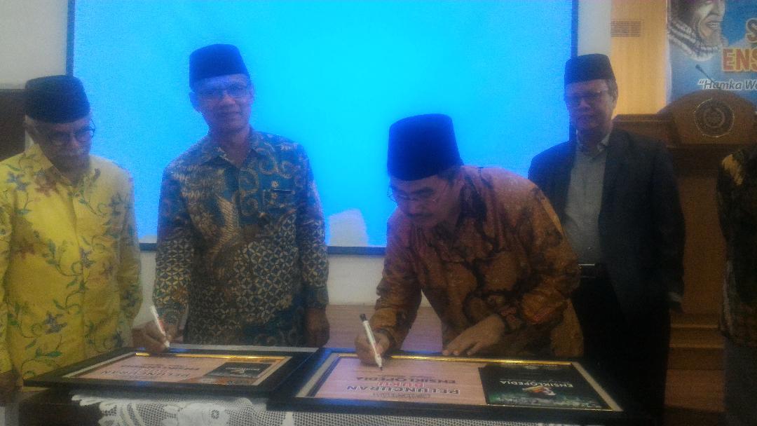 Uhamka Jakarta Gelar Seminar dan Launching Ensiklopedia Buya Hamka