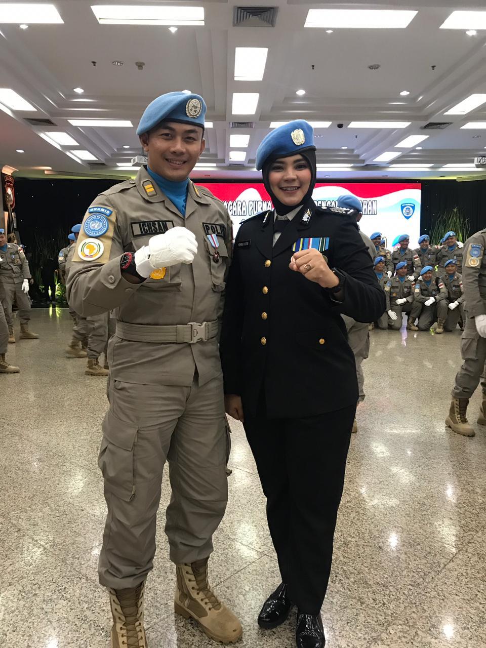 Dua Personel Polda Malut Terima Penghargaan SATYALANCANA BHAKTI BUANA Dari PERSIDEN RI