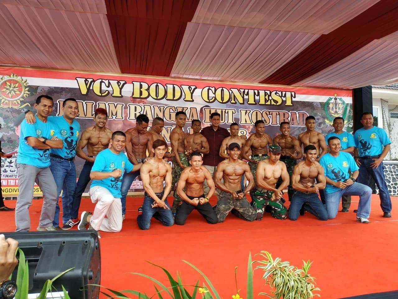 Ratusan Peserta Ikuti Kompetisi VCY Body Contest HUT Kostrad ke-58