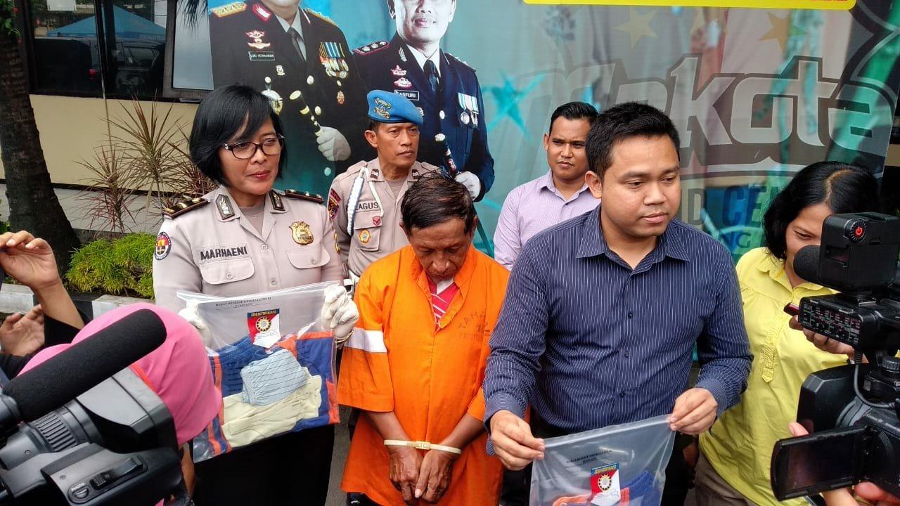 Cabuli Pelajar SD Oknum Guru Diringkus Polres Kota Malang