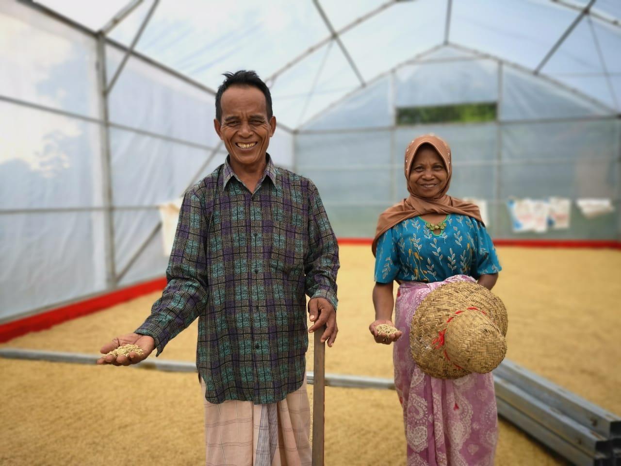 Pengering UV Bantu Petani Kecamatan Rubaru Tingkatkan Hasil Pertanian