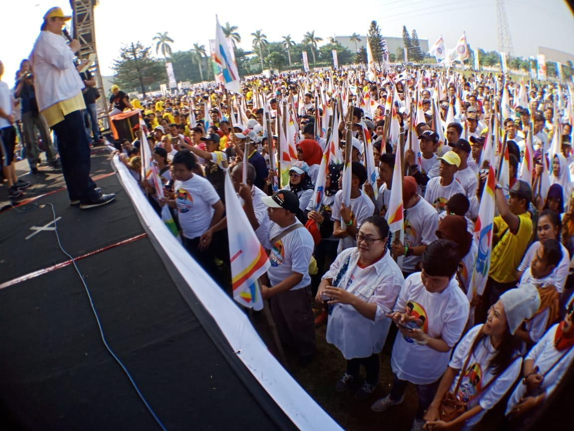 Empat Konfederasi Buruh Pekerja Deklarasi Dukung Paslon #01 Jokowi-Amin