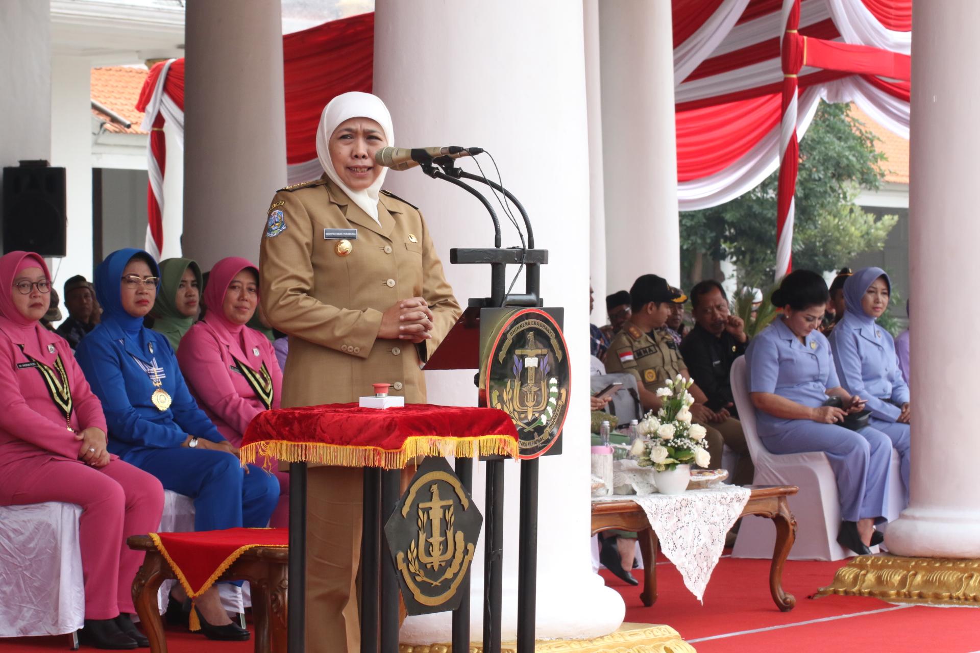 Gubernur Khofifah Minta Dinas Terkait Segera Tangani Gadis Penderita Gangguan Jiwa Asal Kediri