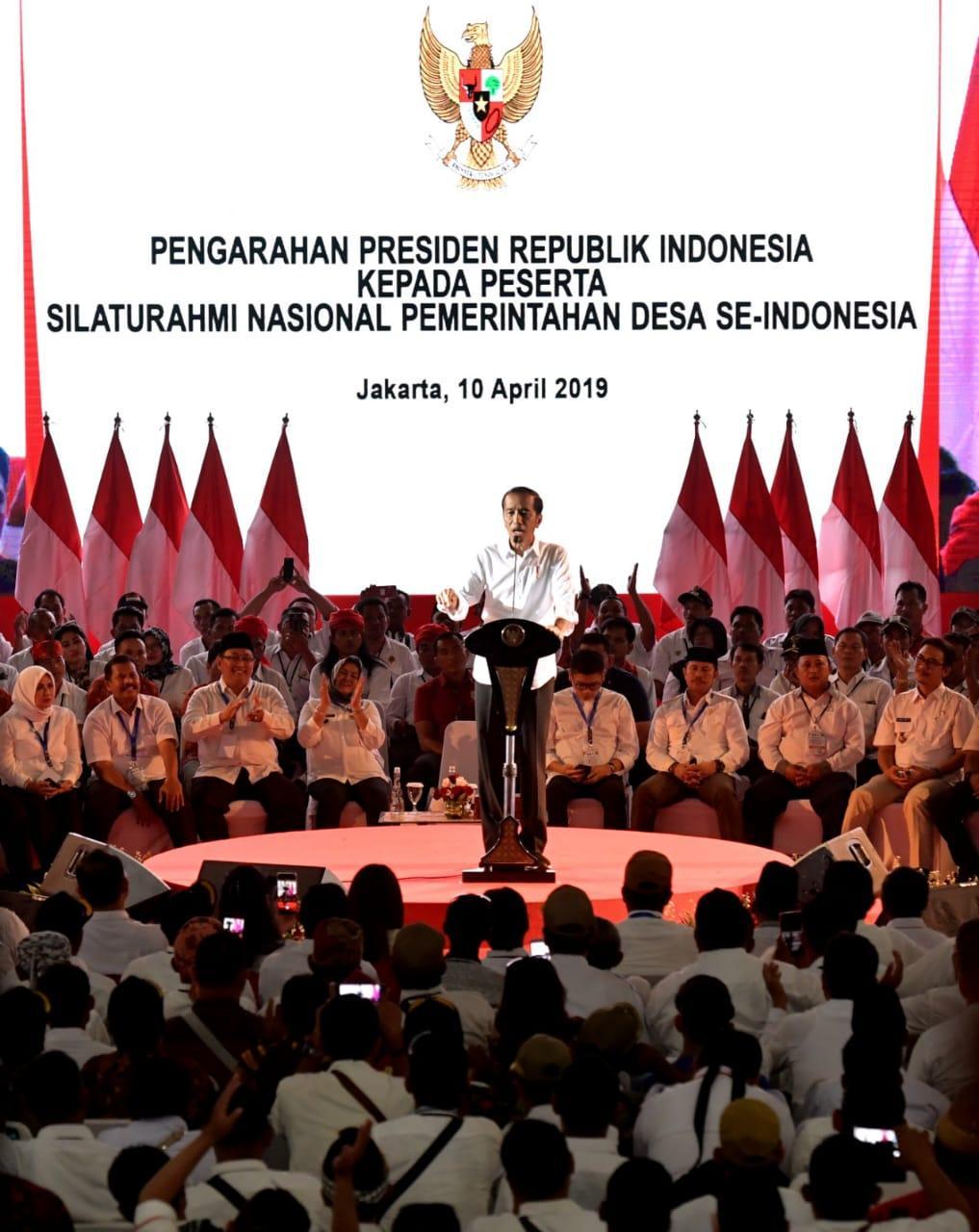 Gulirkan Dana Desa, Presiden Jokowi: Membangun Desa Berarti Membangun Negara