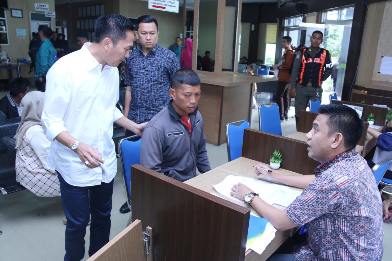 Sekda Ratu Dewa Kunjungi Badan Kesatuan Bangsa dan Politik Kota Palembang