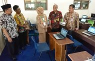 Bupati dan Kepala Dinas Dikpora Kabupaten Wonosobo Pantau Pelaksanaan Ujian Nasional