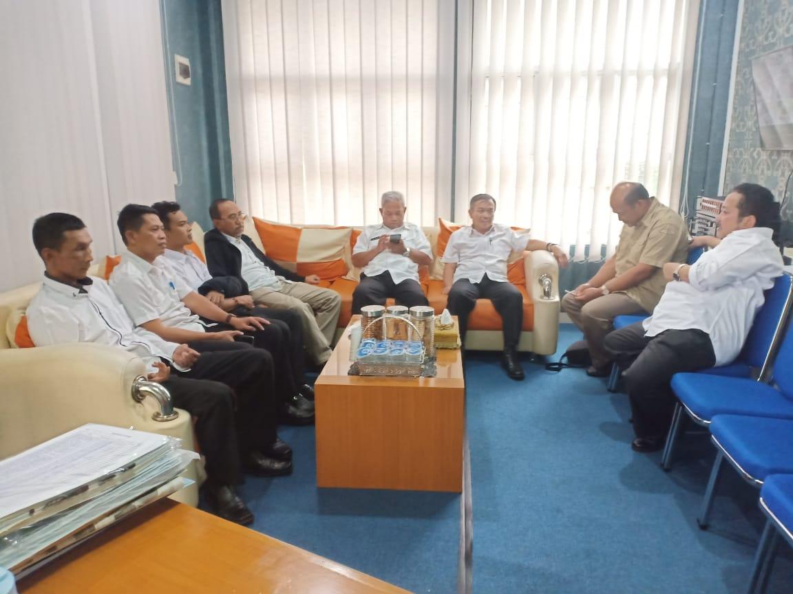Kunker Kadis Provinsi Jabar ke Kantor Disdukcapil Sukabumi