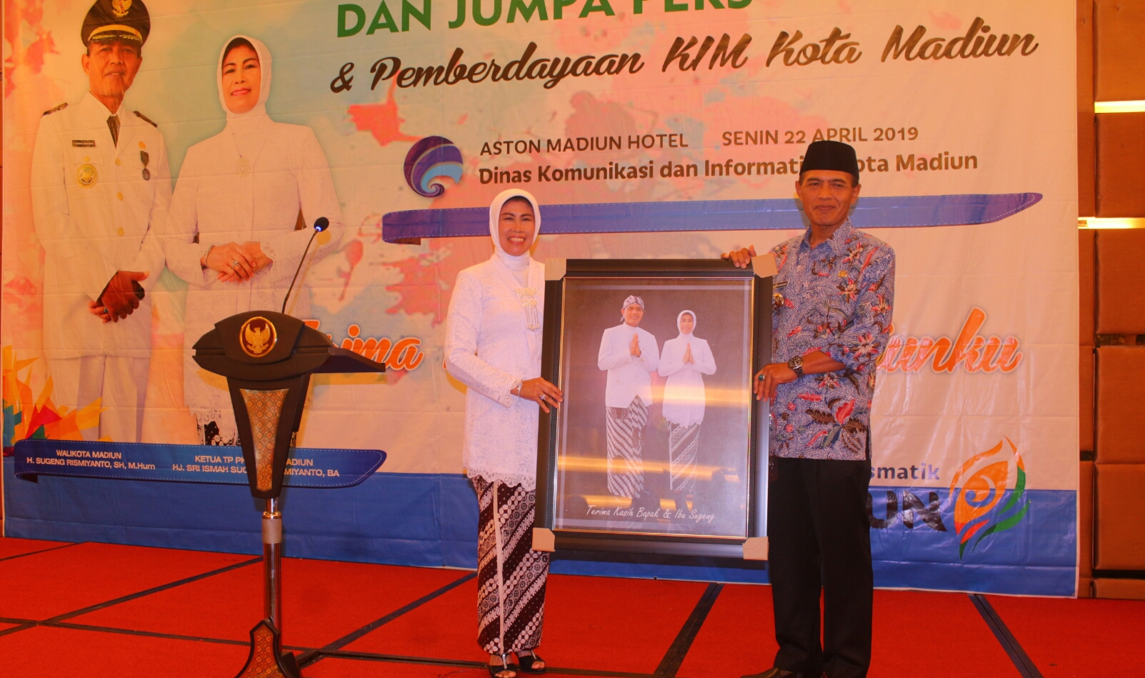 Dipenghujung Masa Bhakti, Walikota Apresiasi Dinas Kominfo Kota Madiun