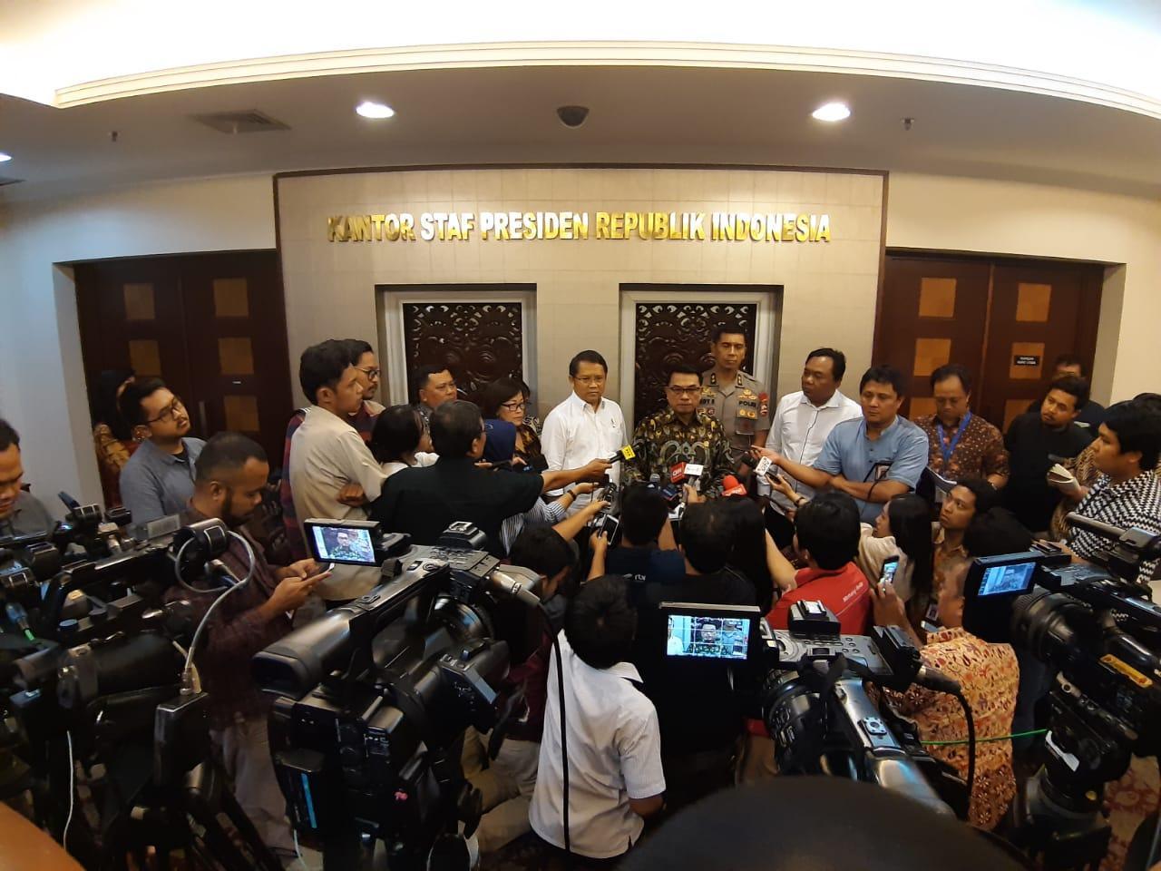 Istana Gelar Rakor untuk Tingkatkan Kualitas Pelayanan Mudik 2019