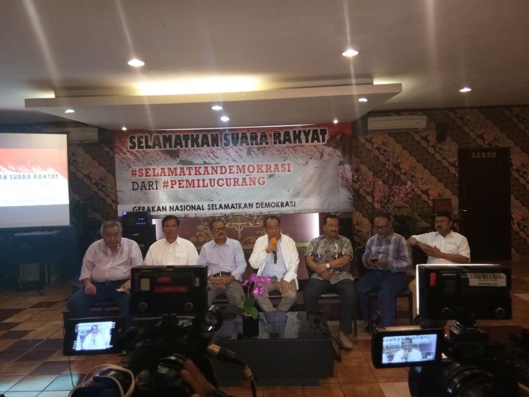 """Jumhur Hidayat : """"Yang dapat menghentikan kecurangan pemilu hanya gerakan rakyat"""""""