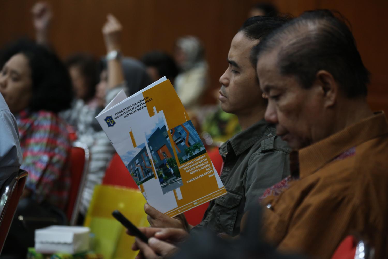 KPK dan Pemkot Surabaya Sosialisasi Anti Korupsi Pengelolaan Pajak ke PPAT dan Notaris