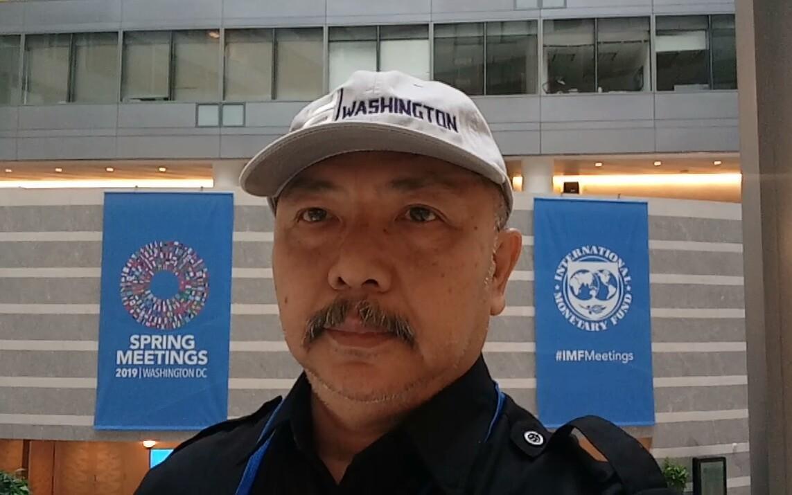 CeO beritalima Apresiasi Kang Dedy Yang Sedang Liputan di Washington DC