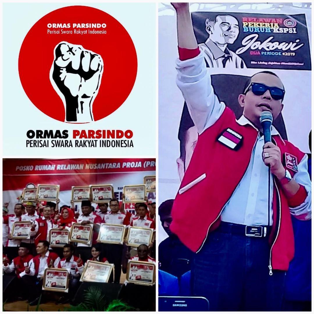 Ormas Parsindo Dibentuk Kawal Kinerja Pemerintah dan Suksesi Kepemimpinan Muda Indonesia 2024