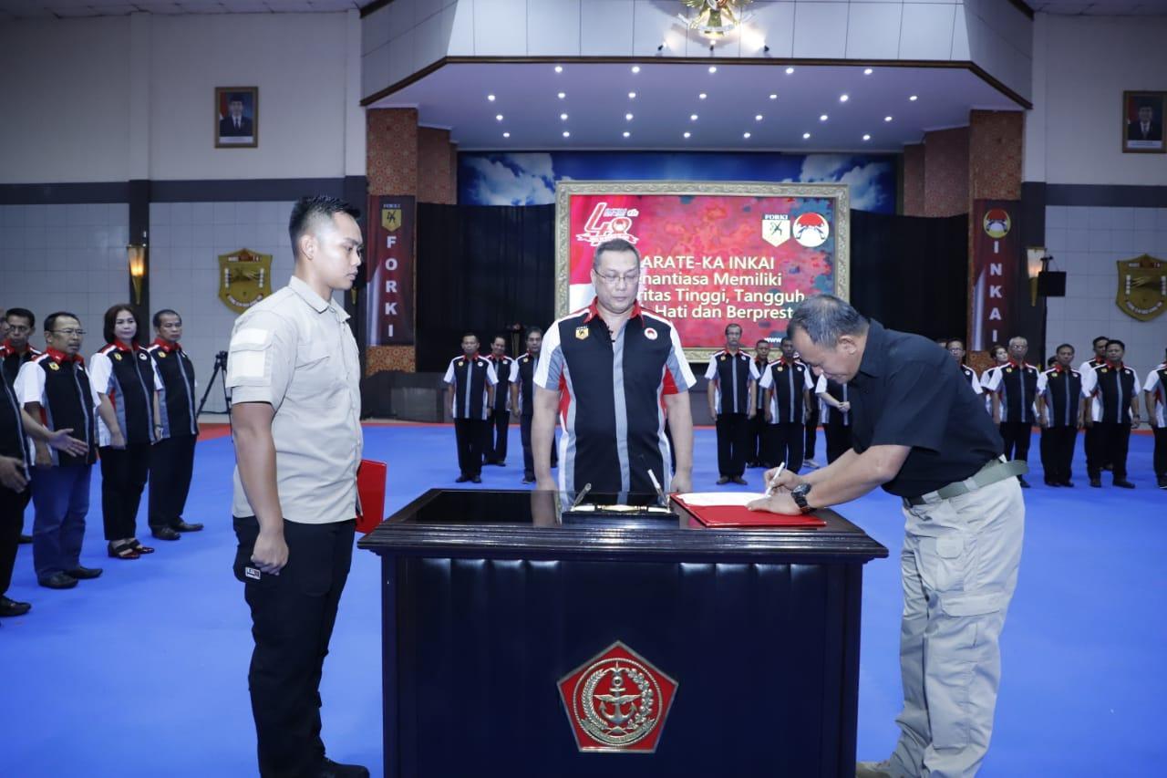 Panglima TNI Kukuhkan 66 Pengurus Pusat INKAI