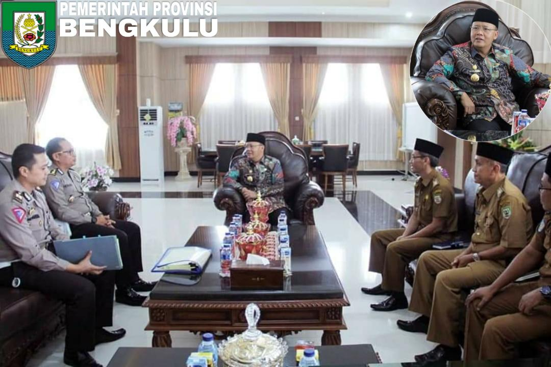 Pemprov Bengkulu Teken MoU Samsat Online Nasional