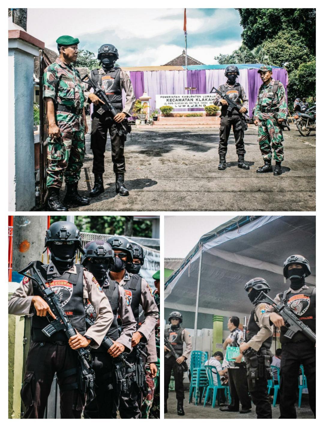 Pengamanan Pemilu Lumajang Perketat Penjagaan Di Tiap-Tiap PPK