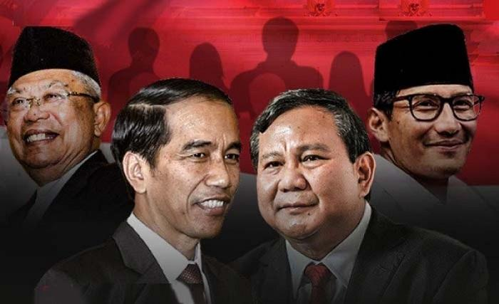 Jokowi-Ma'ruf Menang Tebal di Surabaya