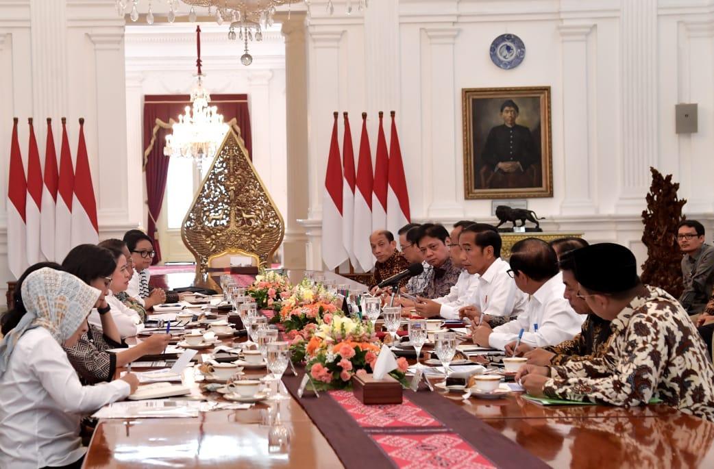 Presiden Jokowi Gelar Ratas Bahas Hasil Kunjungan ke Arab Saudi
