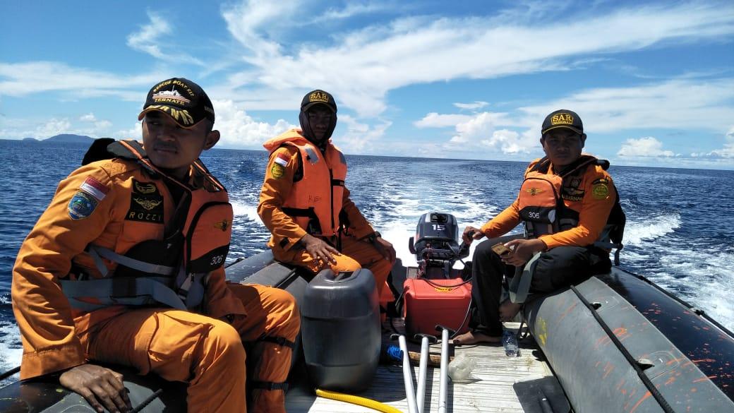 Hari Ke- 4. pencarian nelayan yang hilang saat pergi mancing