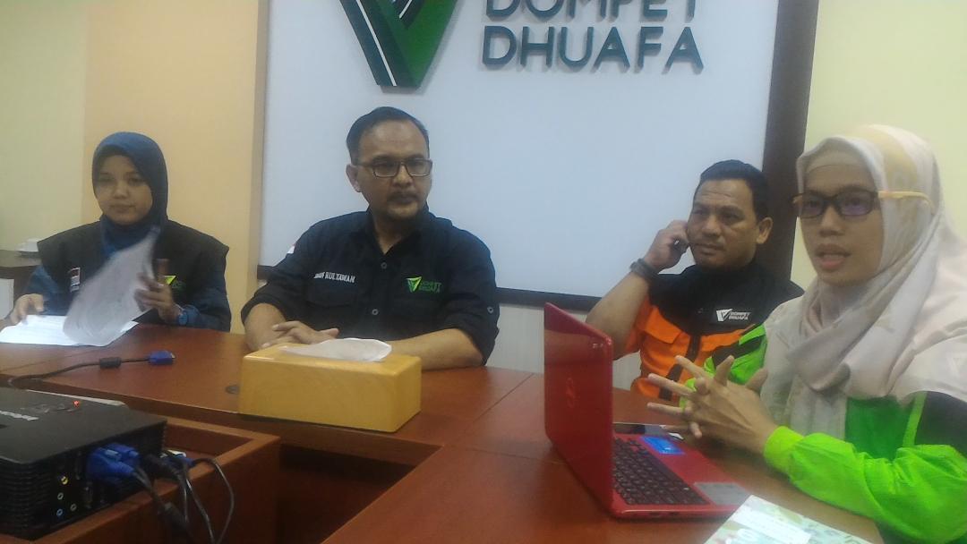Dompet Dhuafa Tidak Nuntut Tapi Menyayangkan Tindakan Refresif Aparat Kepolisian