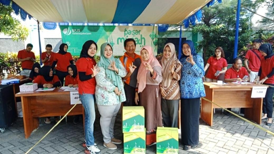 BPJS Ketenagakerjaan Pasuruan Anggarkan Rp 90 Juta Untuk Pasar Murah