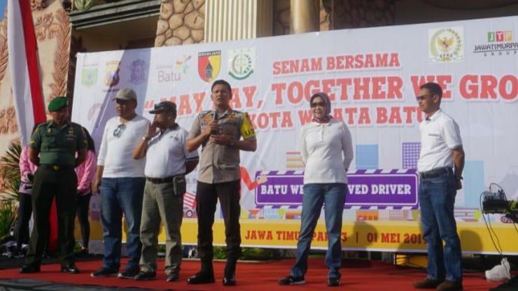 May Day di Kota Batu, BPJS Ketenagakerjaan Ingatkan Pentingnya Perlindungan Jamsos