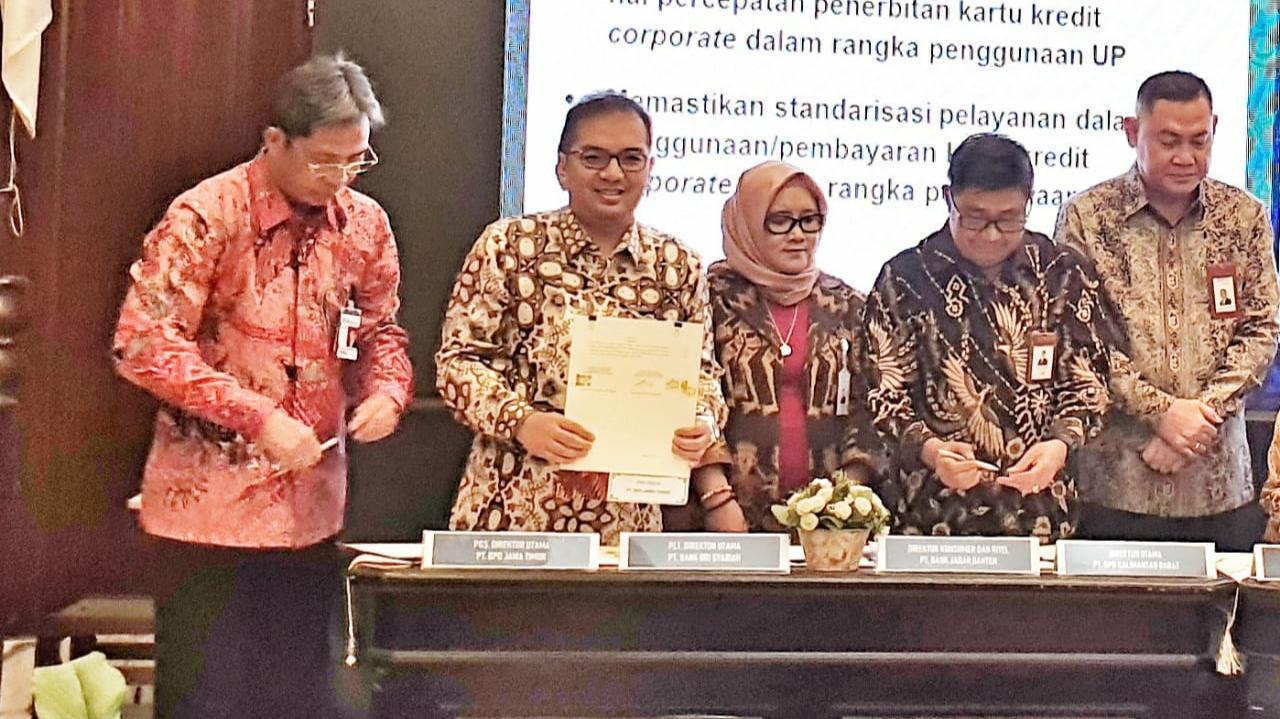 Bank Jatim Dukung Layanan Non Tunai di Lingkungan Kementerian Keuangan
