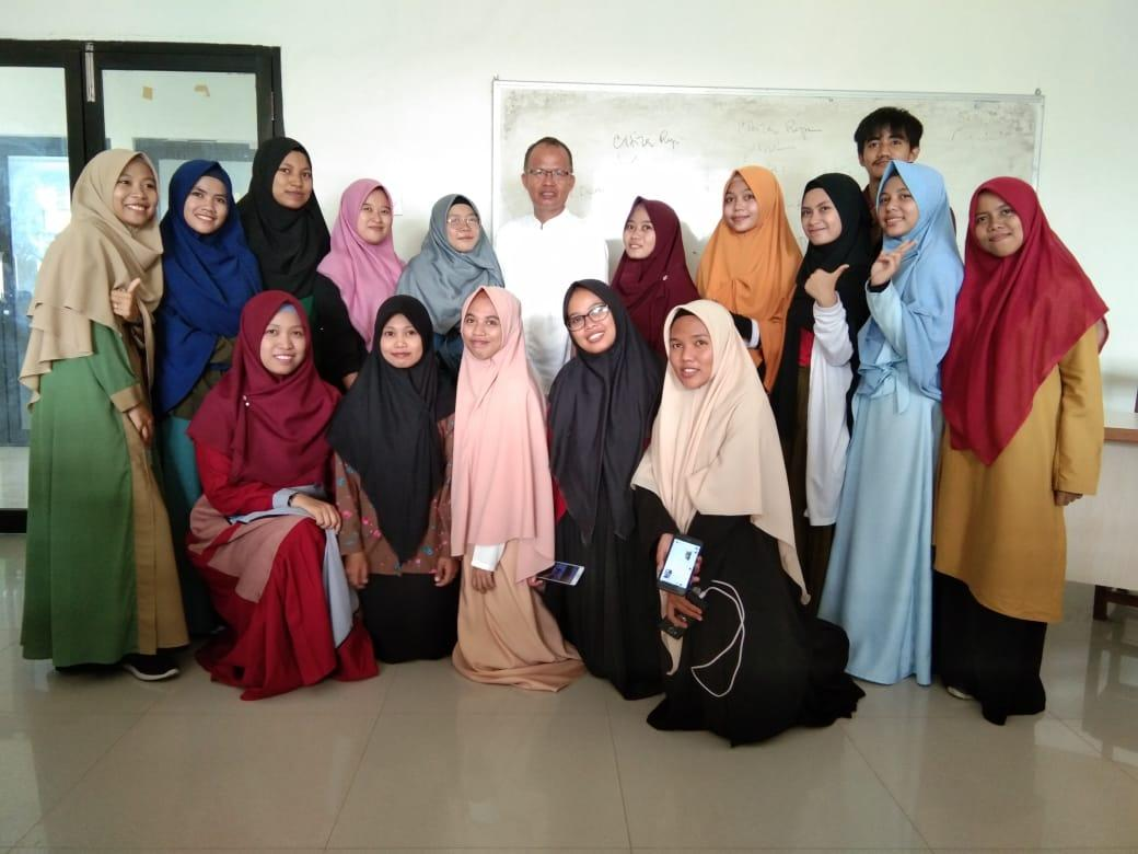 Mahasiswa KPI UIN Alauddin ini Pembelajaran Daring Gunakan Classroom Google