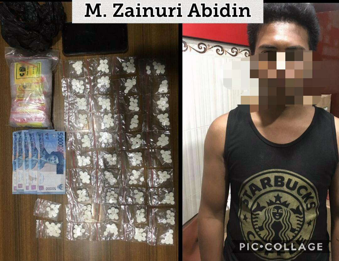 Pemuda Penjual Pil Koplo Di Lumajang Ditangkap Polisi