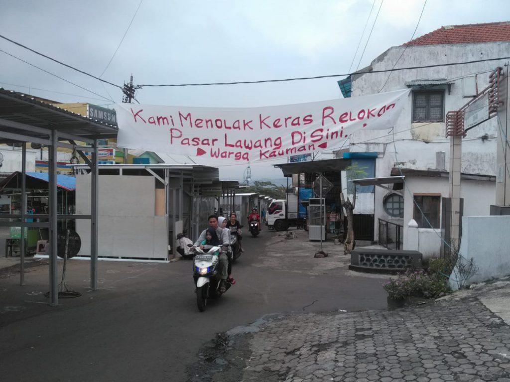 Warga Menolak Keras Relokasi Pasar Lawang