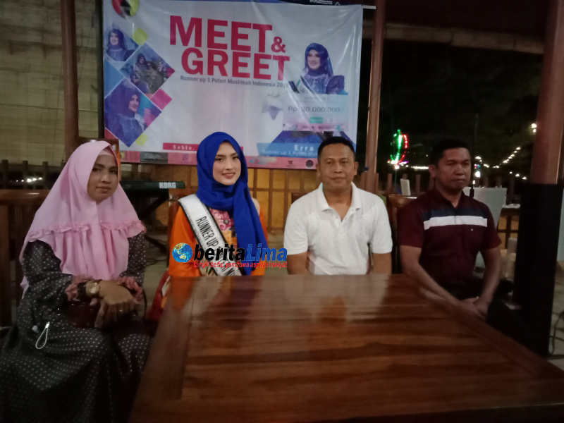 Kompak, Dandim 0827 Sumenep Bersama Anggota Dukung Erra Fazhira Maju Menjadi Juara Putri Muslimah Asia