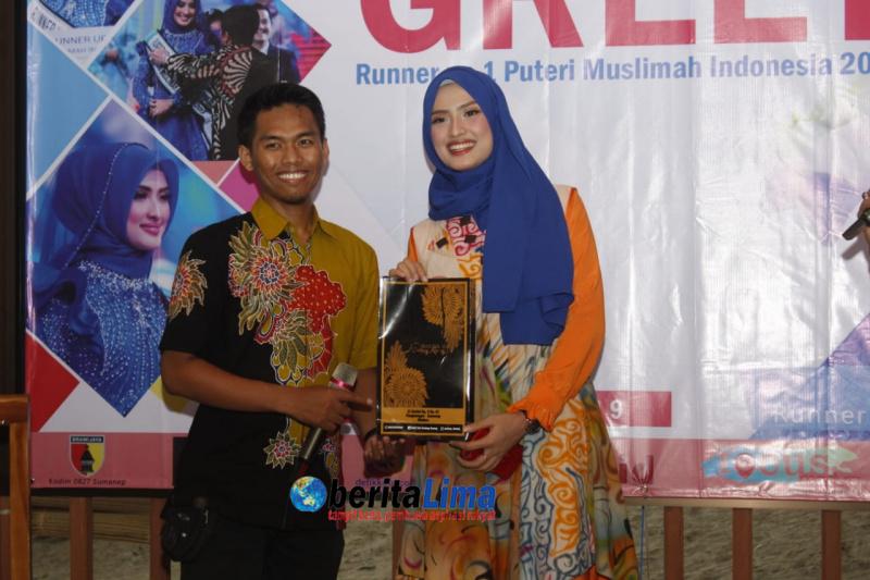 """Erra Fazhira: """"Terimakasih Kepada Batik Canteng Koneng Hantarkan Erra Raih Juara Favorit Putri Muslimah Indonesia Tahun 2019"""""""