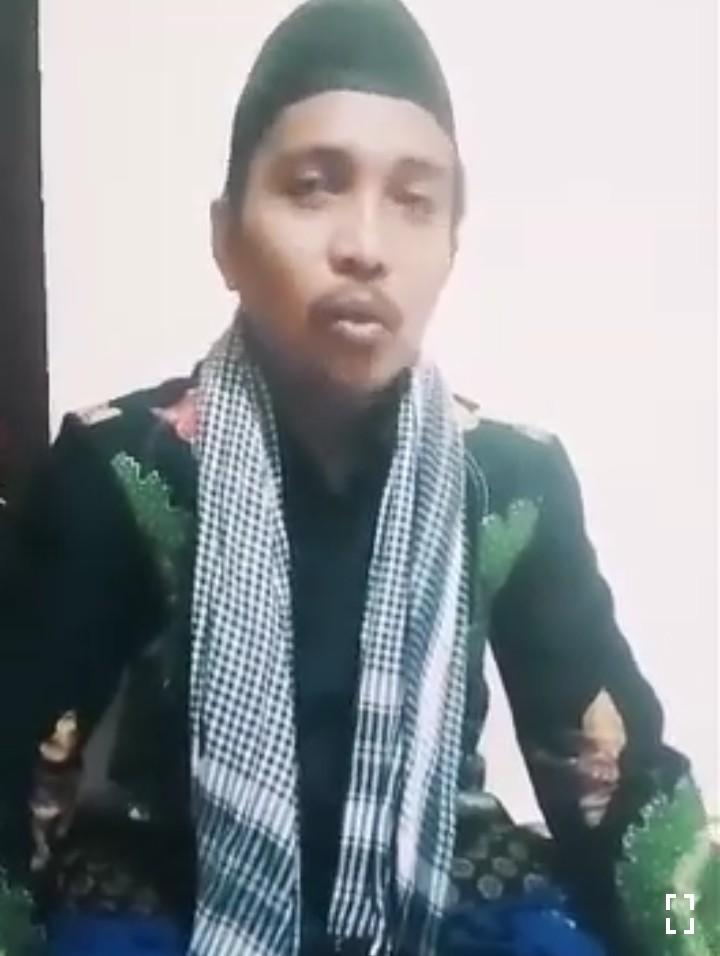 Ketua MWC NU Rubaru Sumenep, Kiai Mohammad Sodiq Tolak Keras People Power