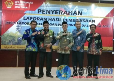 Kali Ke-tujuh Pemkab Bondowoso Raih Penghargaan Opini WTP