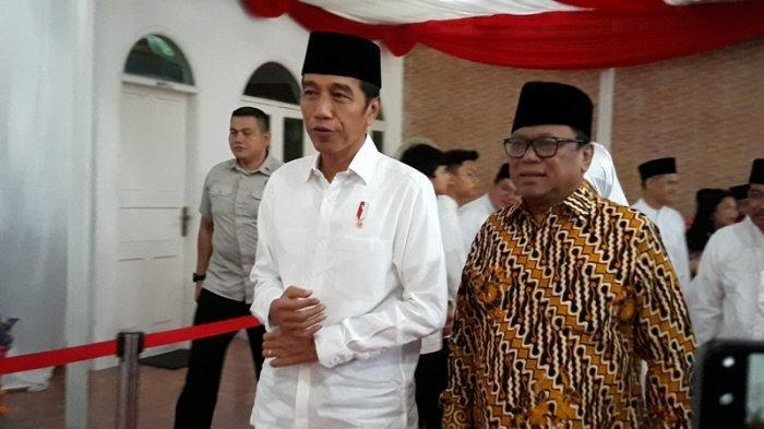 Soal Hasil Pemilu 2019, Jokowi Tanggapi Santai Sikap Prabowo