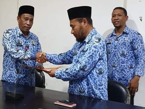 Serah Terima Jabatan Kepala BPKAD Kepulauan Sula ...