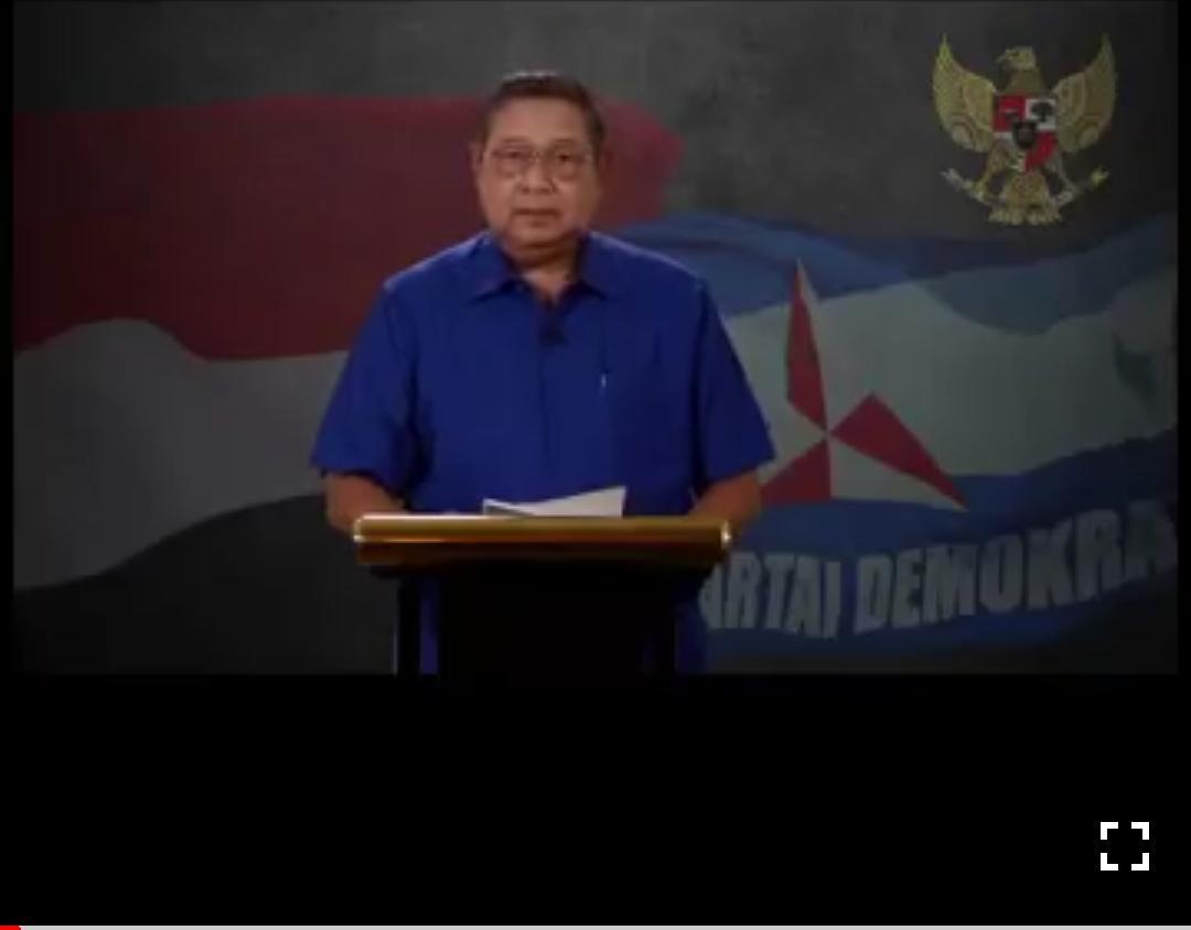 Melalui Video, SBY Ucapkan Selamat ke Jokowi-Ma'ruf