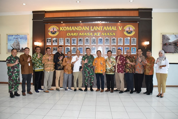Komandan Lantamal V Terima Kunjungan SKK Migas Jabanusa