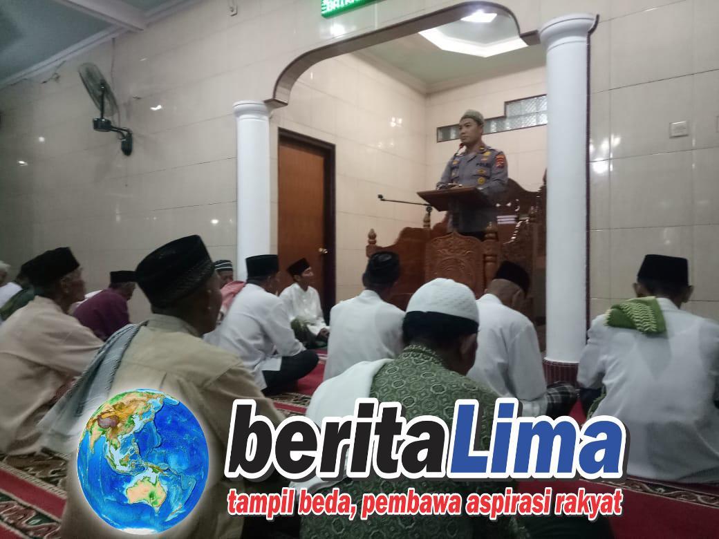 Polsek Buer Lakukan Safari Ramadhan Bersama Bhabinkamtibmas dan Masyarakat