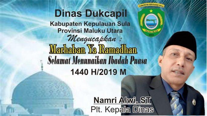 Dinas Dukcapil Kabupaten Kepulauan Sula Mengucapkan ...