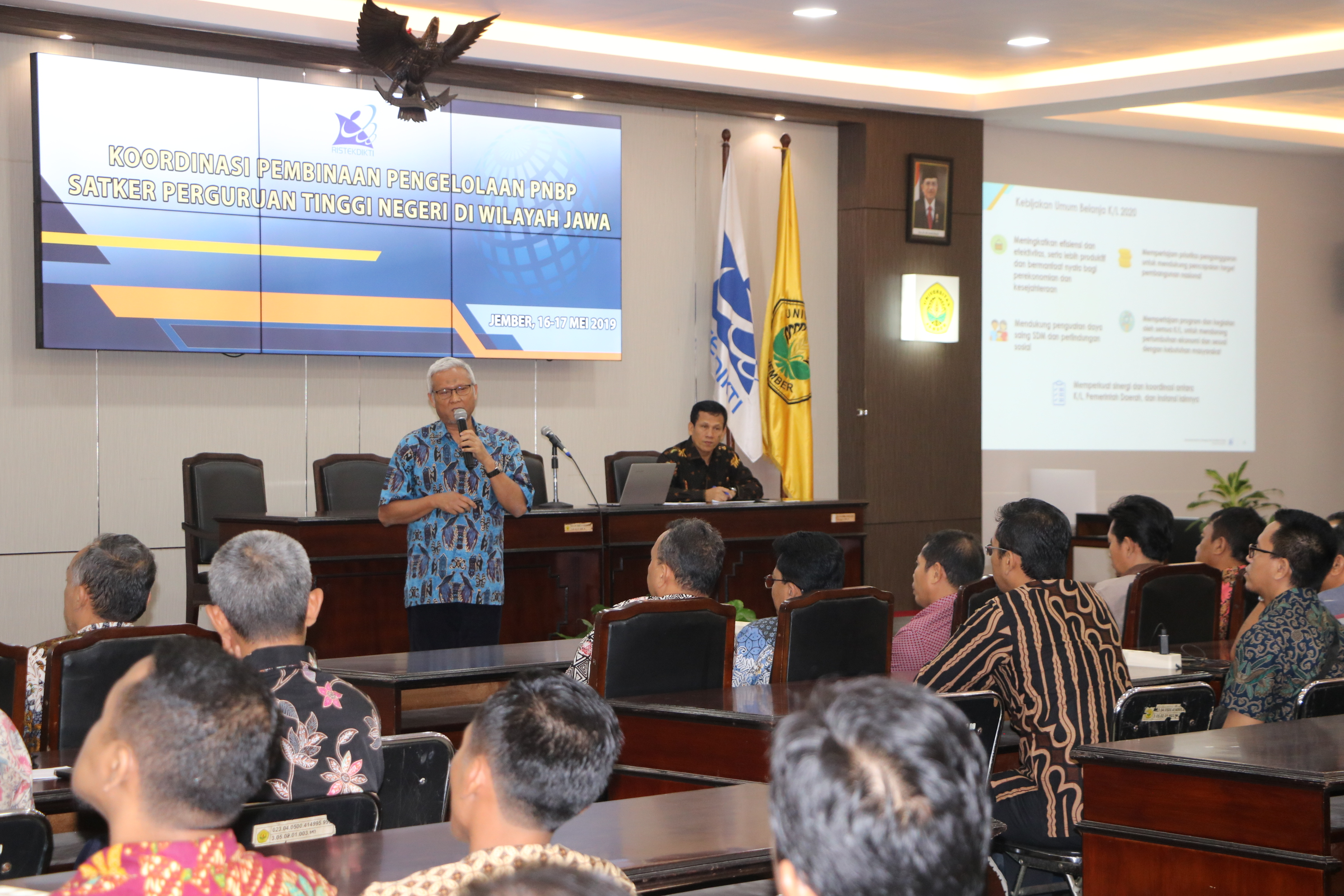 Enam Belas PTN Se Jawa Timur dan Jawa Tengah Berkumpul Di Kampus Tegalboto, Bahas Pengelolaan PNBP